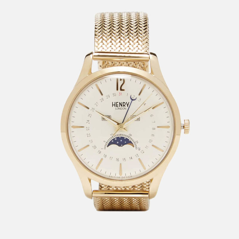 Henry London | Henry London Westminster Moon Phase Watch - Gold