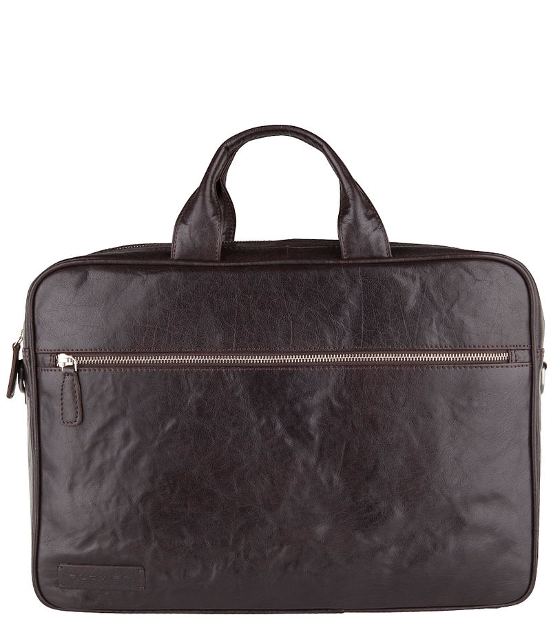 Plevier-Laptop bags - Laptop Bag 604 14 Inch - Brown
