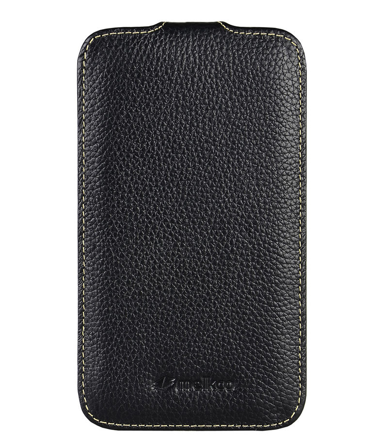 Melkco-Smartphone covers - Leather Case Galaxy Note - Black
