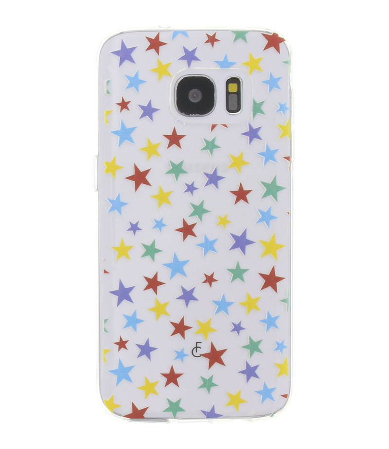 Fabienne Chapot-Smartphone covers - Stars Softcase Samsung Galaxy S7 - Black