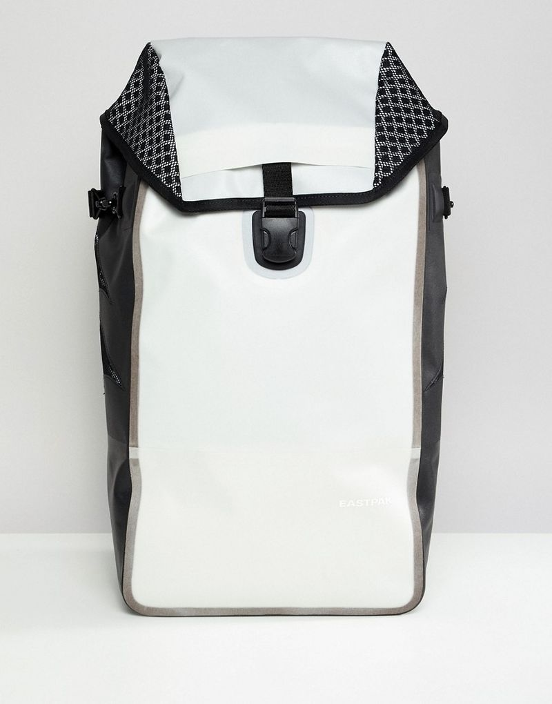 Eastpak Bust Reflect Light Backpack - White