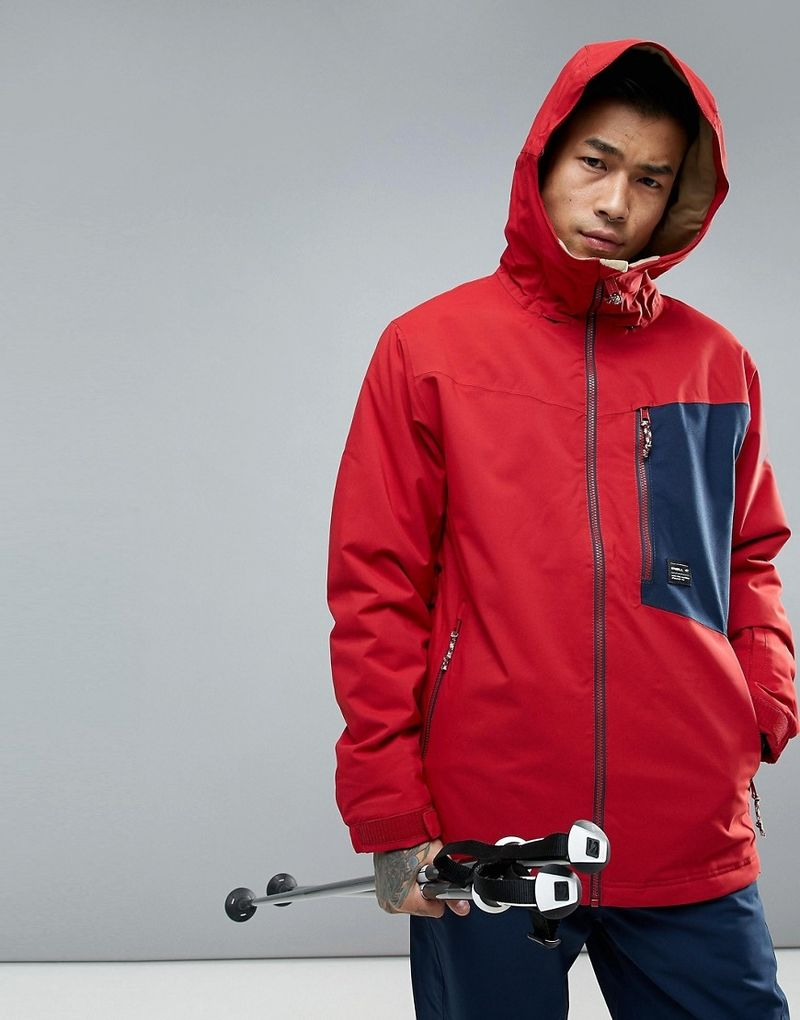 O'Neill Cue Jacket Ski - Red