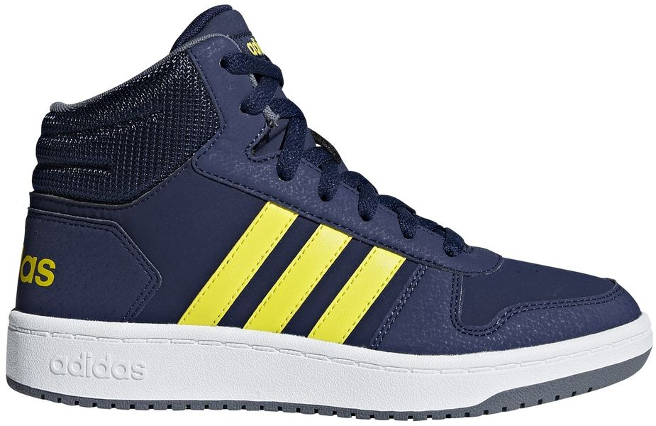 Adidas Avalynė Paaugliams Hoops Mid 2.0 k Blue Yellow