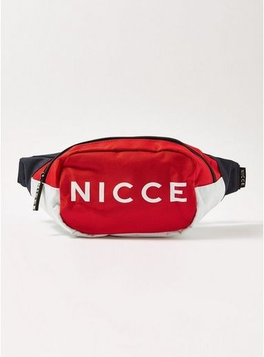 Topman | NICCE Red and Navy 'Blitz' Cross Body Bag