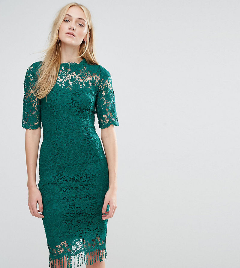 Paper Dolls Tall Paper Dolls Tall All Over Lace Dress With