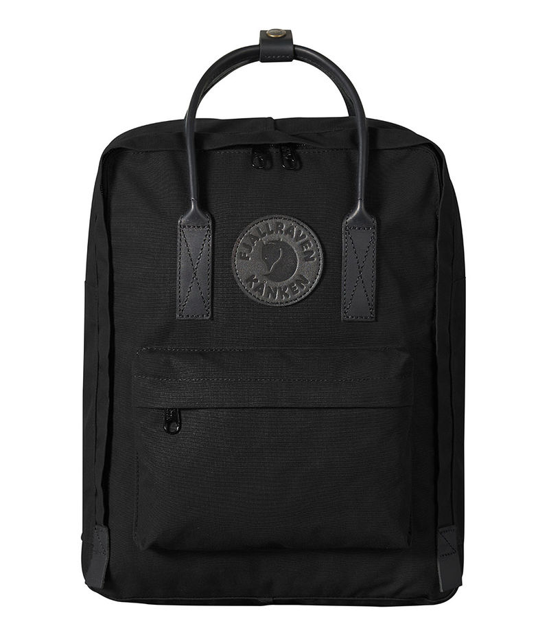 Fjallraven-Backpacks - Kanken No. 2 Black - Black