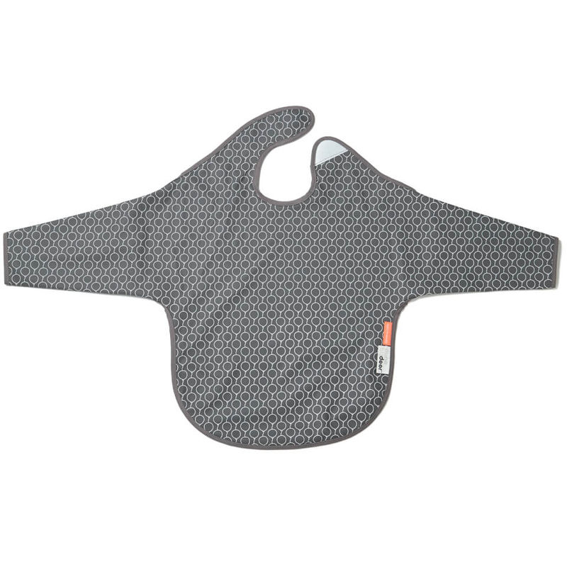 Done by Deer | Done By Deer Sleeved Bib Balloon - Grey