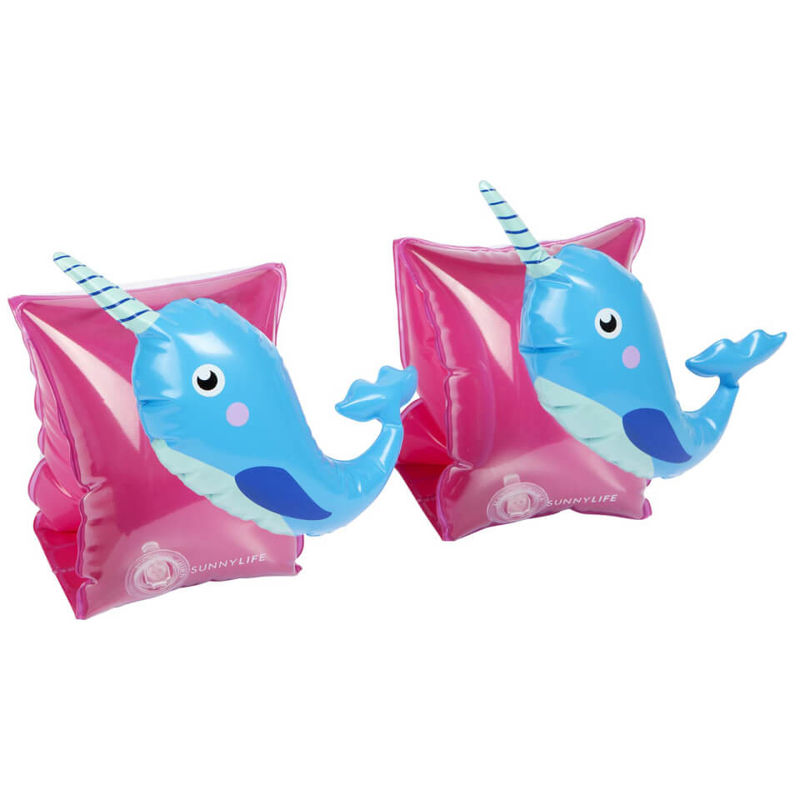 Sunnylife | Sunnylife Narwhal Float Bands - Pink/Blue