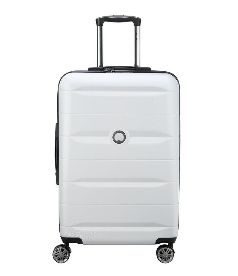 Delsey-Suitcases - Delsey Comete Spinner 67cm Silver - Silver