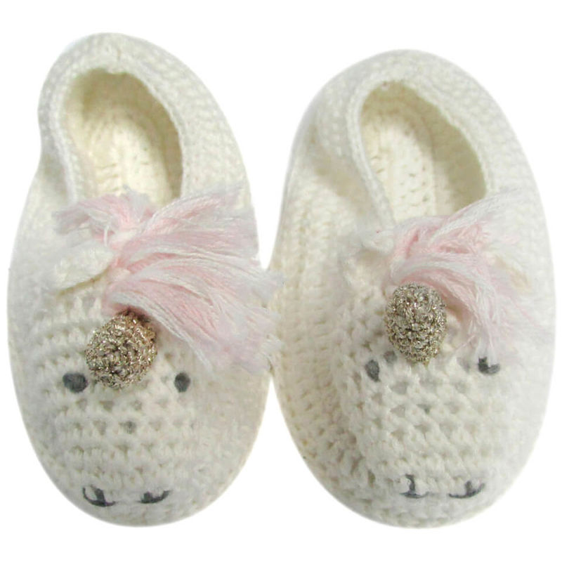 Albetta | Albetta Crochet Unicorn Booties