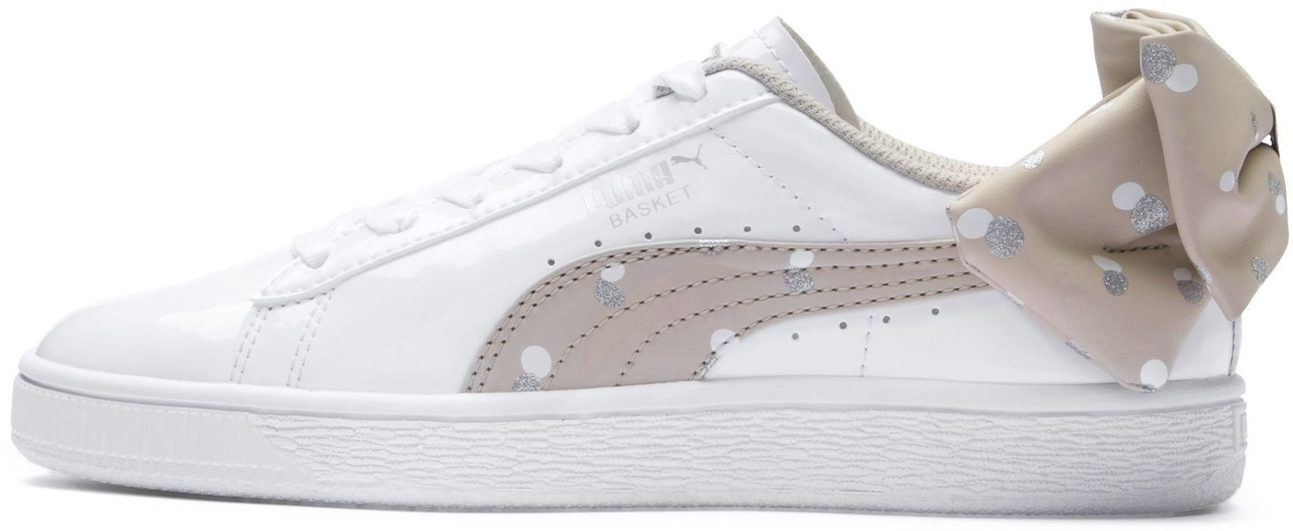 Puma Avalynė Paaugliams Basket Bow Dots White