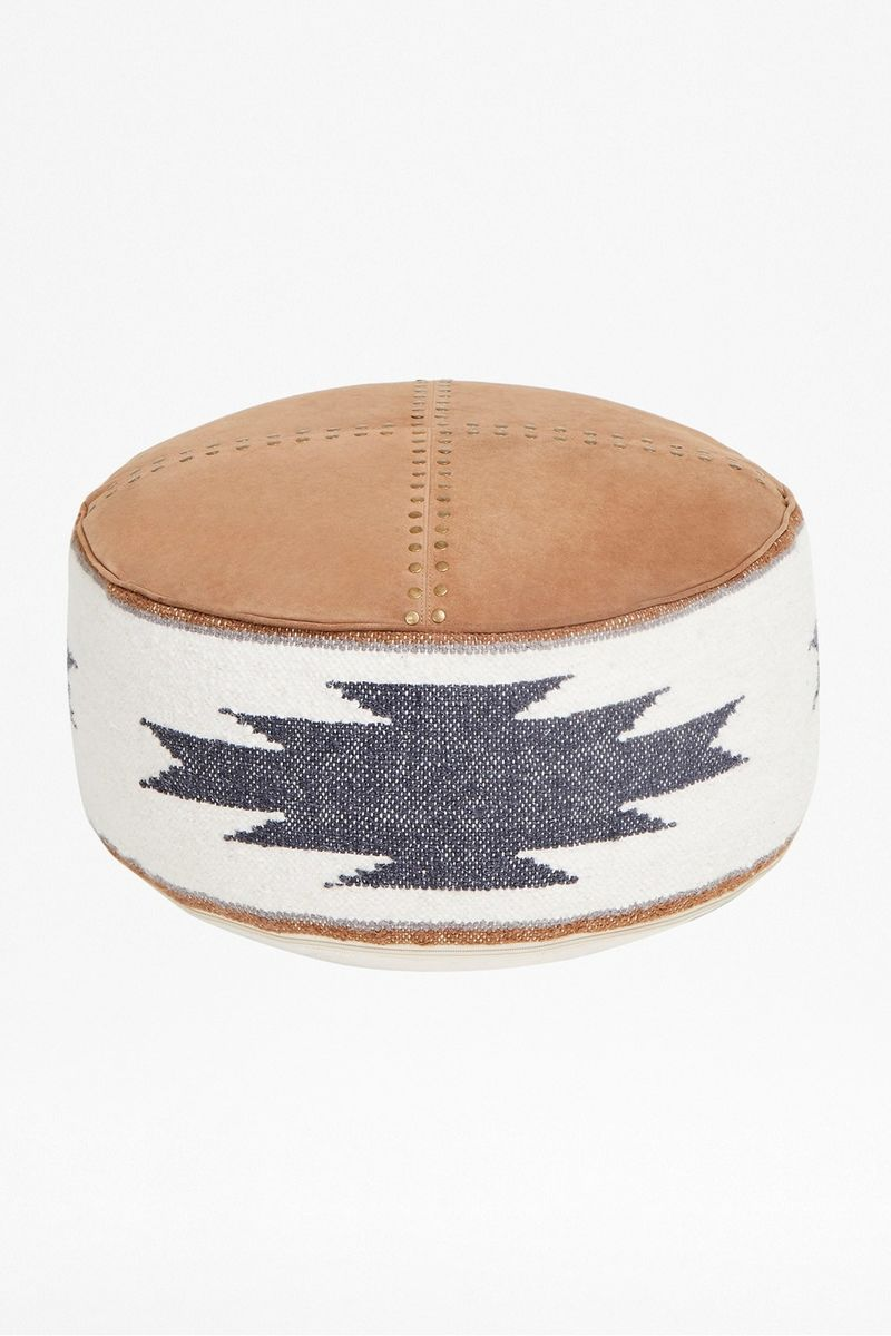 Rodeo Pouffe - natural