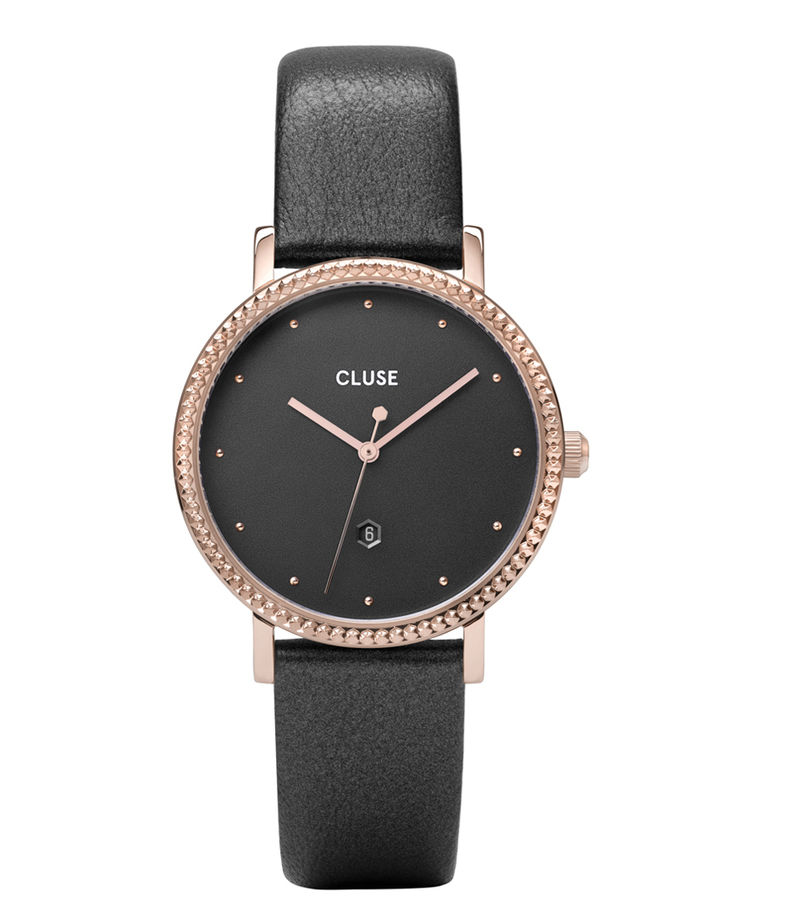 CLUSE-Watches - Le Couronnement Leather Rose Gold - Grey