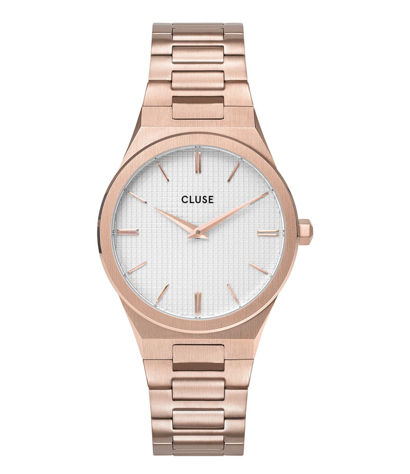 CLUSE-Watches - Vigoureux 33 H Link Rose Gold Colored - Rose (gold) coloured