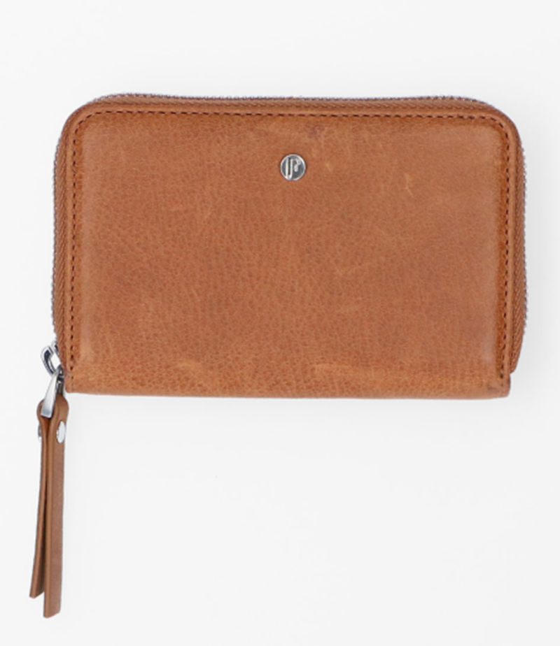 FMME-Zip wallets - Wallet Small Nature - Brown