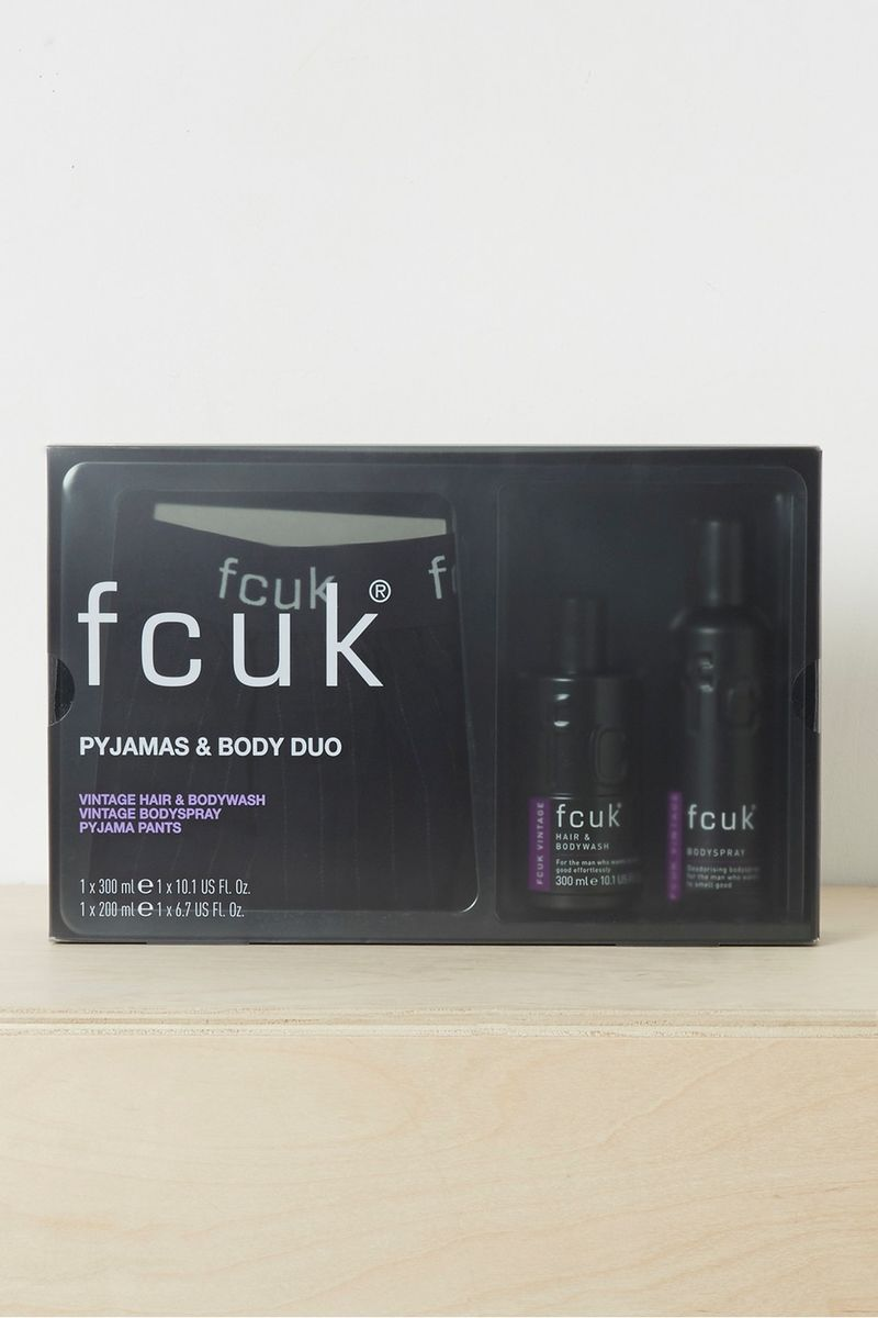 Pyjama and Body Duo Gift Set - purple