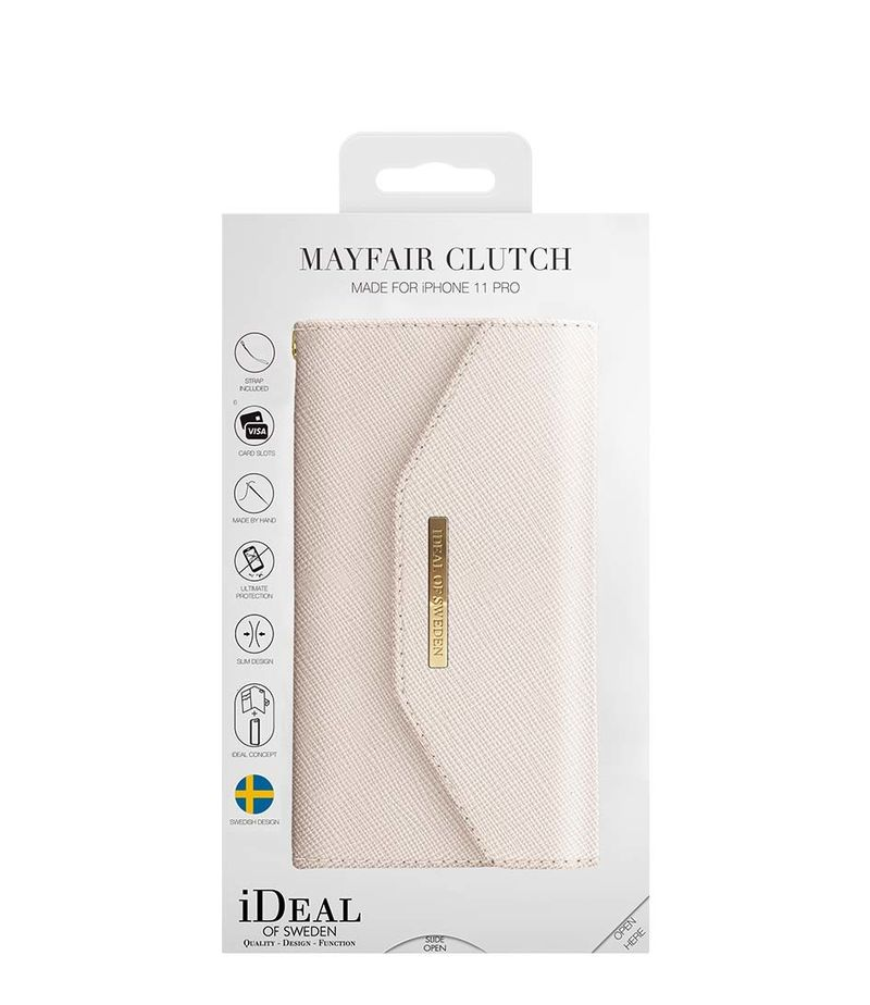 iDeal of Sweden-Smartphone covers - Mayfair Clutch iPhone XS/X - Beige