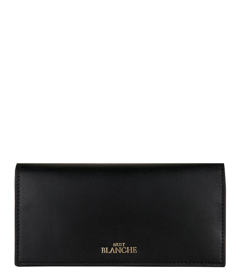 Nuit Blanche-Bifold wallets - Ophelia Purse - Black