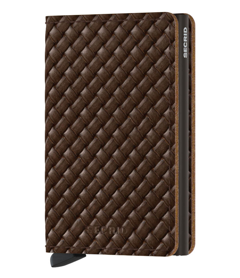 Secrid-Card holders - Slimwallet Basket - Brown