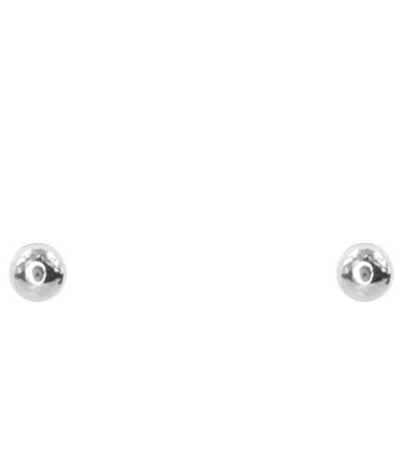 My Jewellery-Earrings - Small Stud Dot - Silver coloured