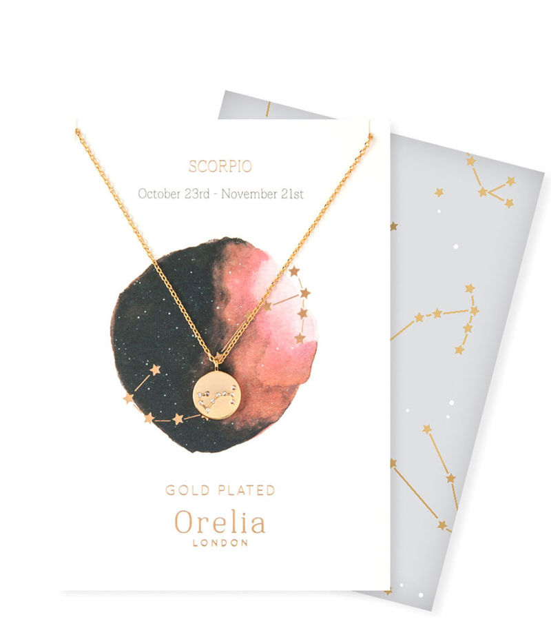 Orelia-Necklaces - Ketting Sterrenbeeld Schorpioen - Gold-coloured