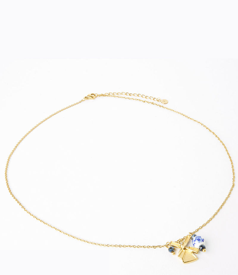 My Jewellery-Necklaces - Ketting molen - Gold-coloured