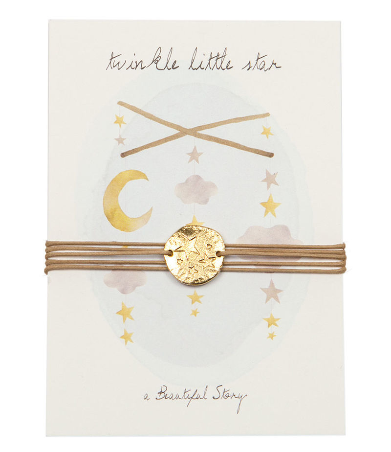 A Beautiful Story-Bracelets - Jewelry Postcard Little Star - Beige