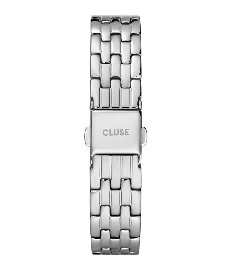 CLUSE-Watchstraps - 5 Link Strap 16 mm  - Silver coloured