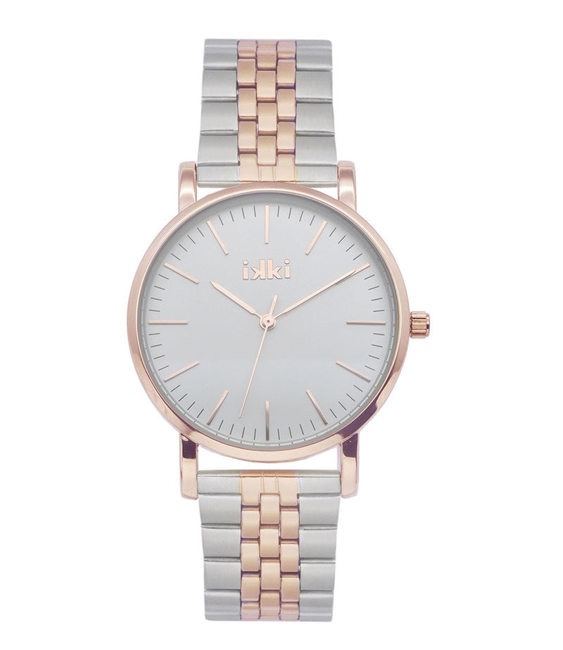 IKKI-Watches - Watch Jamy Silver Plated - Silver coloured