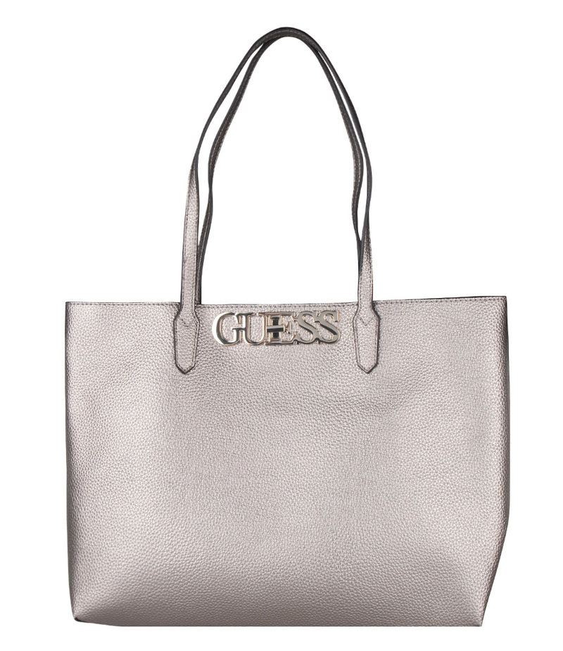 Guess-Shoulder bags - Uptown Chic Barcelona Tote - Grey