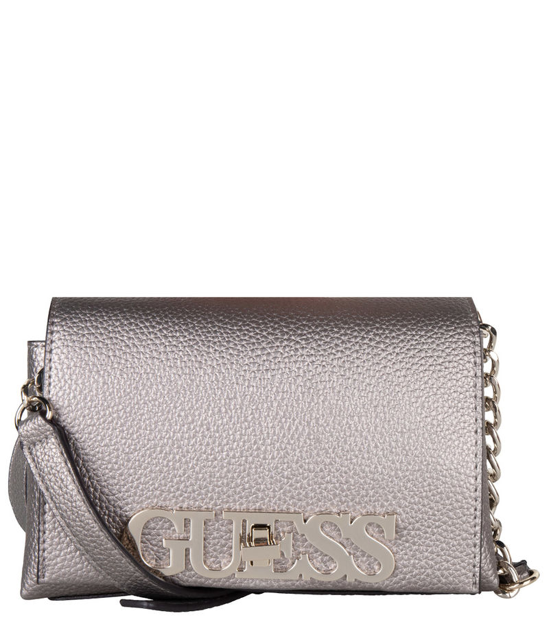 Guess-Crossbody bags - Uptown Chic Mini Crossbody Flap - Grey