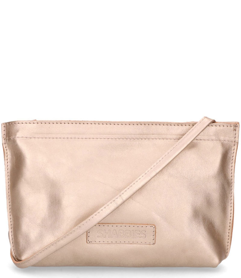 Shabbies-Crossbody bags - Crossbody Small vegetable Shiny Leather - Gold-coloured