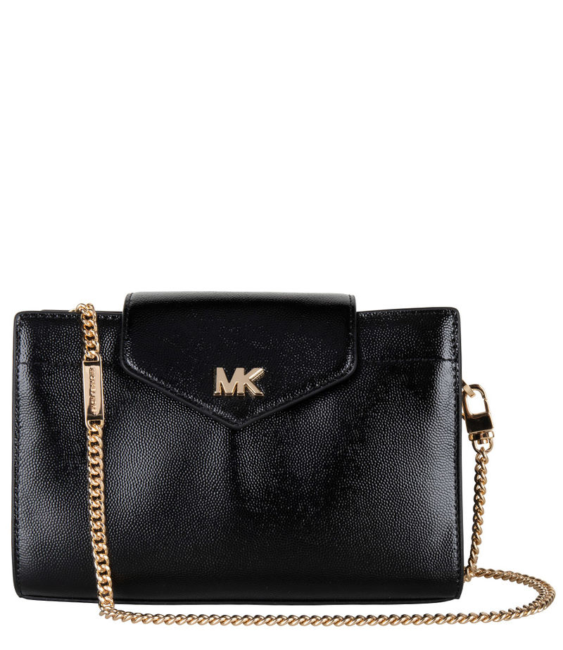 Michael Kors-Crossbody bags - Mott Medium Convertible Crossbody Clutch - Gold-coloured