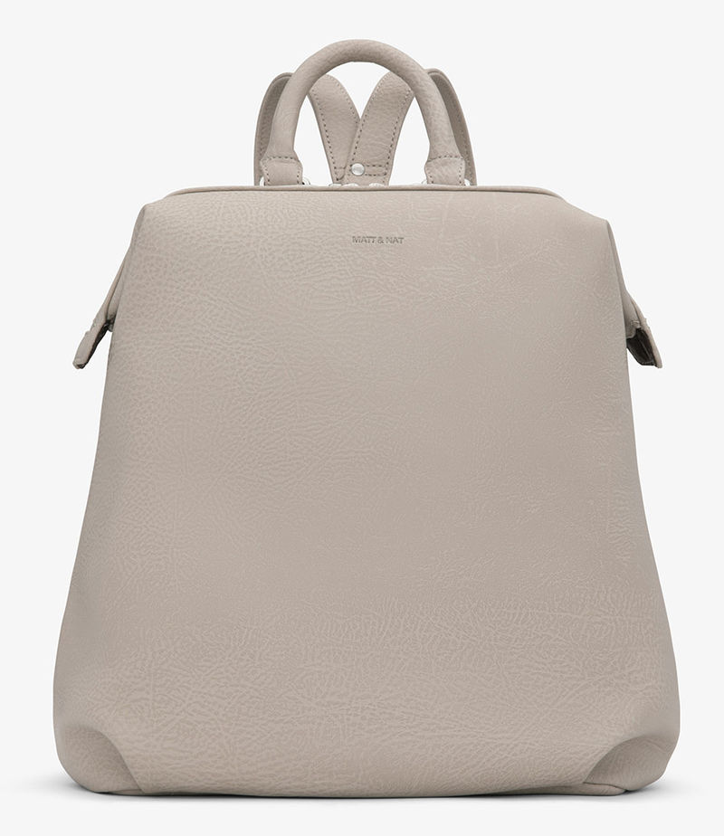 Matt & Nat-Everday backpacks - Vignelli Dwell Backpack - Brown