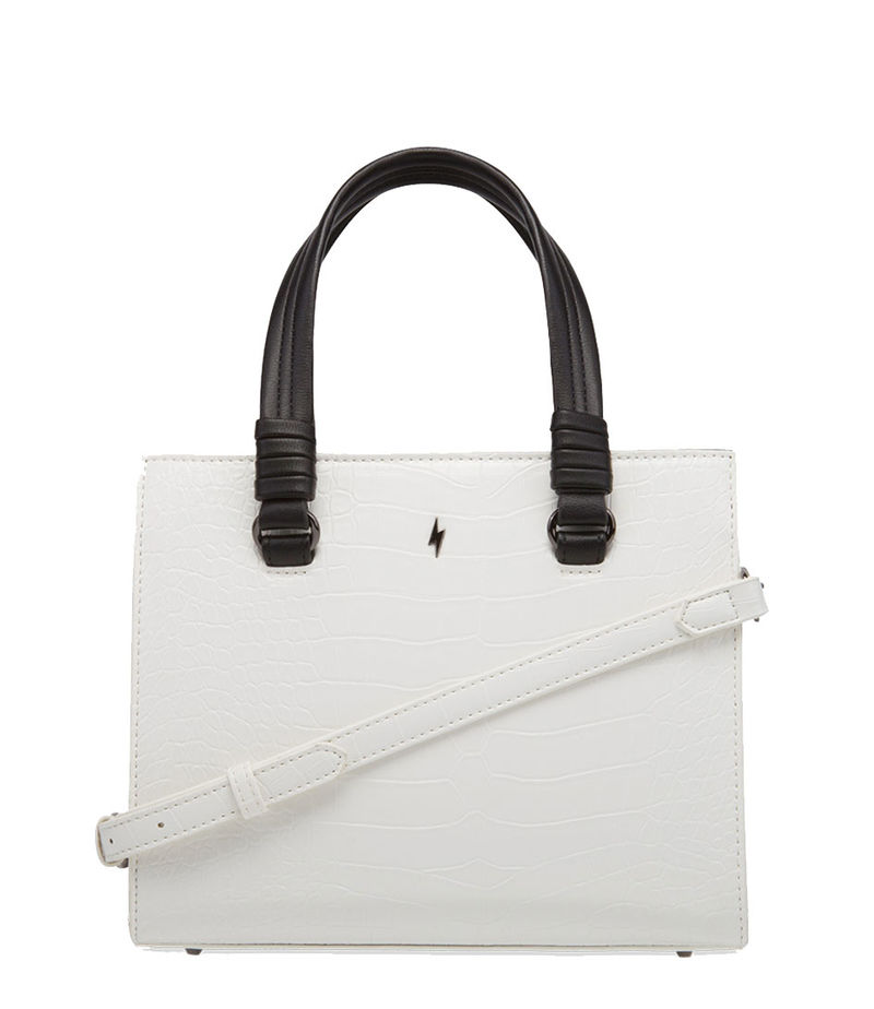 Pauls Boutique-Handbags - Mini Georgia Burford - White