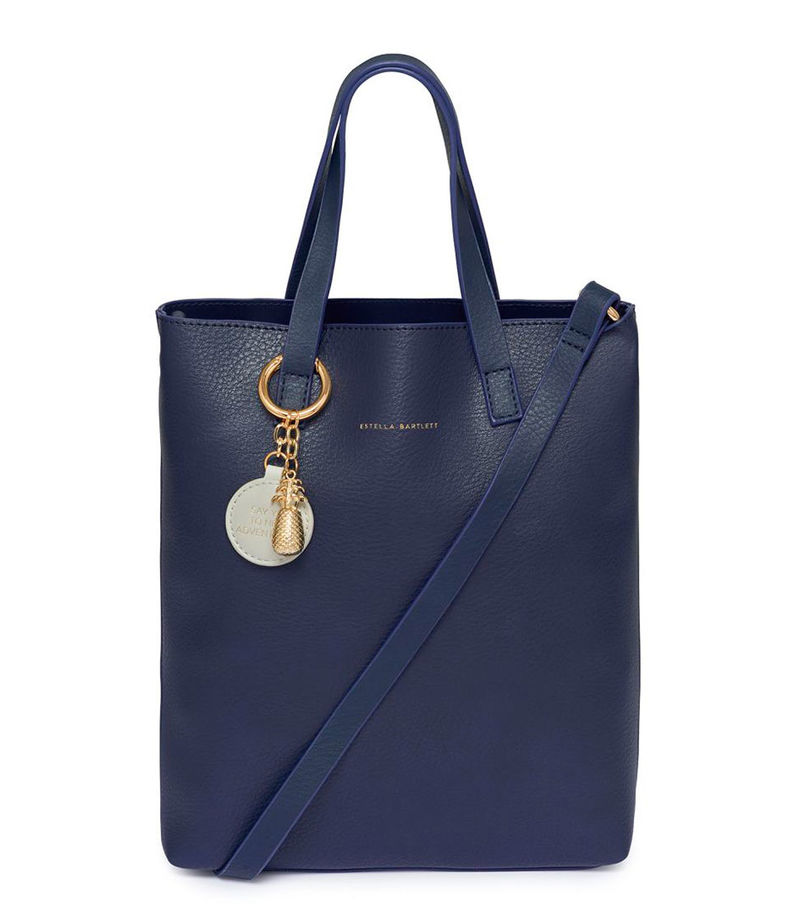 Estella Bartlett-Handbags - The Porter Tall Tote Bag - Blue