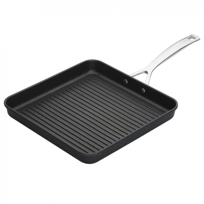 Le Creuset | Le Creuset Toughened Non-Stick Ribbed Square Grill - 28cm