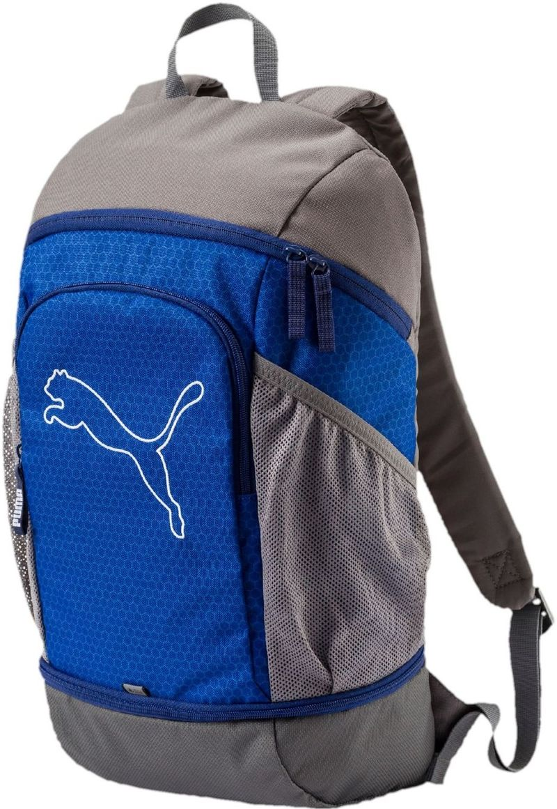 Puma Kuprinė Echo Backpack Lapis Grey Blue
