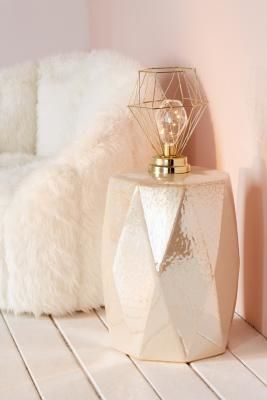 Urban Outfitters | Serena Geo Caged Table Lamp