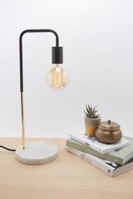 Urban Outfitters | Dalston Marble Table Lamp