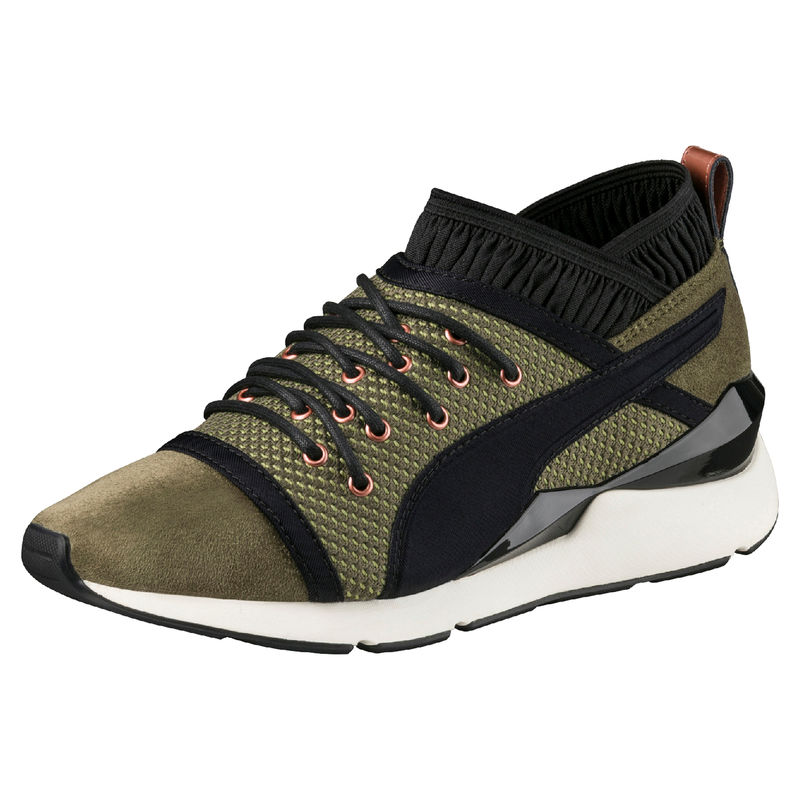 Puma Avalynė Pearl VR Wn Olive Night Black