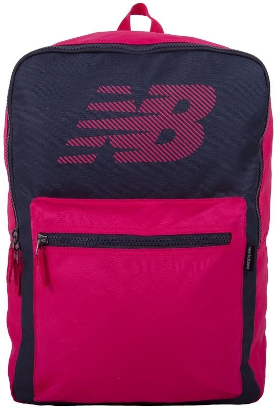 New Balance Kuprinė Booker Backpack II Pink Grey