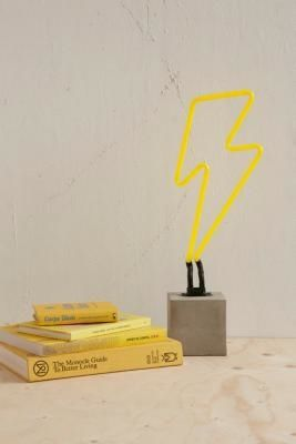 Urban Outfitters | Neon Lightning Table Lamp