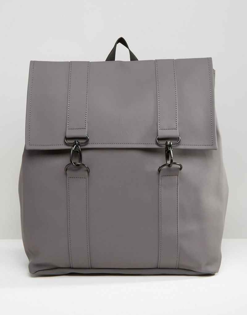 Rains | Rains MSN Backpack In Grey - Grey