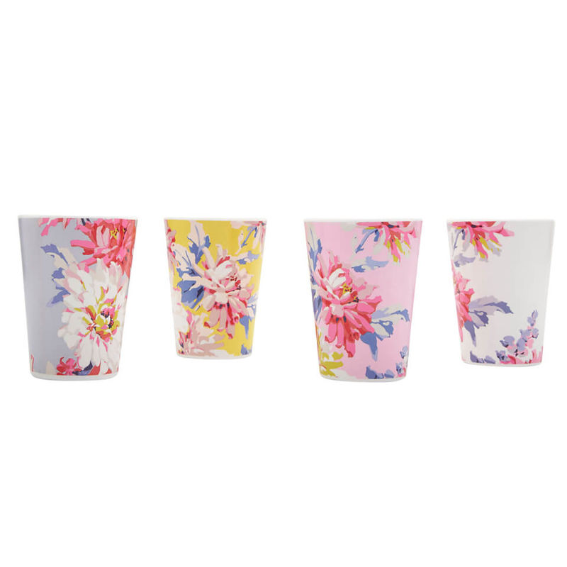 Joules | Joules Beau Beakers - Set of 4 - Whitstable Floral