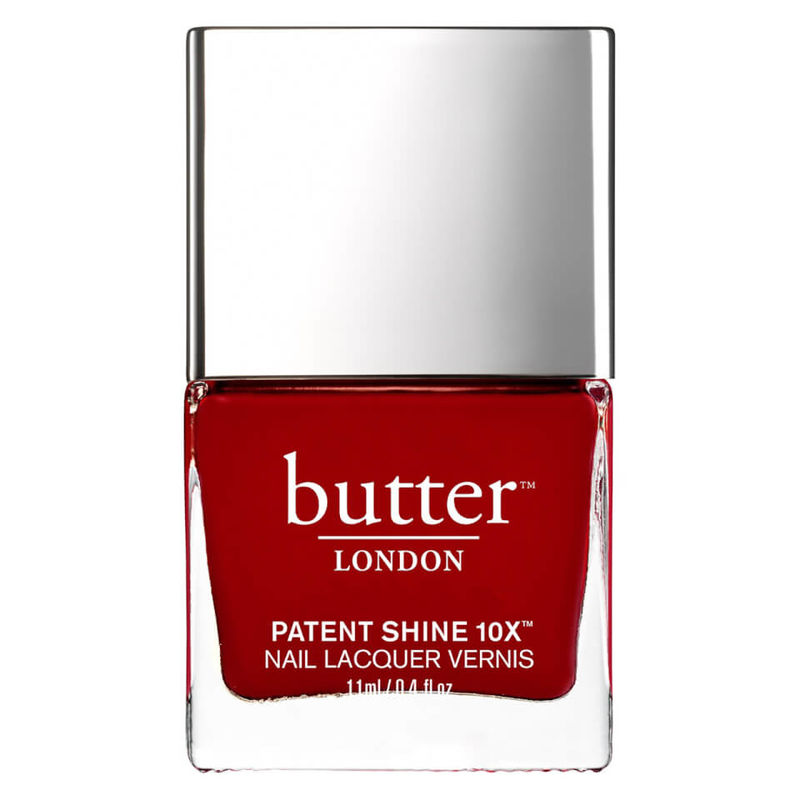 butter LONDON | butter LONDON Patent Shine 10X Nail Lacquer 11ml - Her Majesty's Red