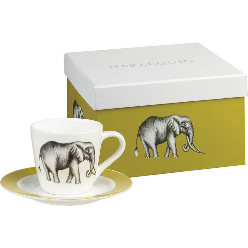 Harlequin | Harlequin Savanna Espresso Cup and Saucer Gift Box (Set of 4)