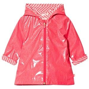 Billieblush Pink Branded Raincoat 2 years