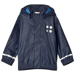Lego Wear Navy Justice Raincoat 86 cm